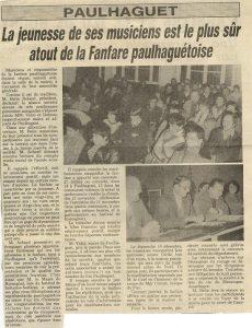 Assemblée Générale 1983