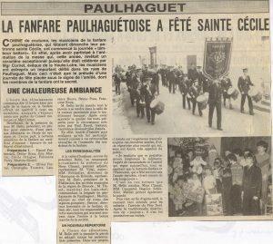 Sainte Cécile 1983