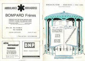 Programme Challenge Louis Bénier