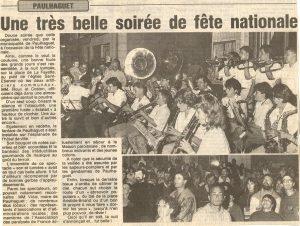 14 Juillet 1989