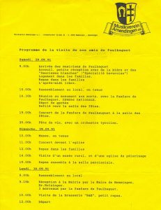 Programme Amendingen 1991