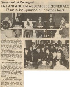 Assemblée Générale de 1991