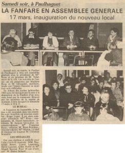 Assemblée Générale de 1991