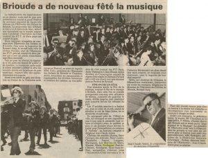 Festival de musique de Brioude 1991