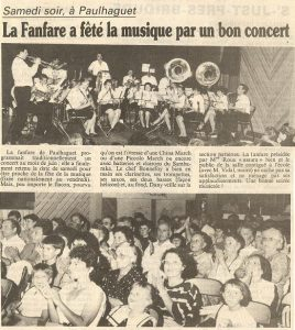 Fête de la musique 1991