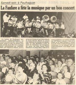 Fête de la musique 1991