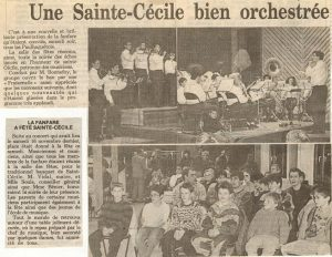 Sainte Cécile 1991