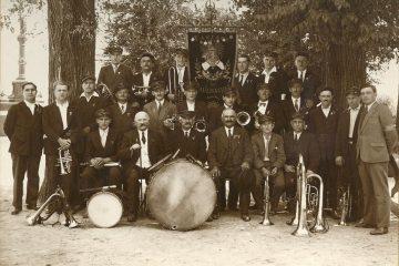 Fanfare de Paulhaguet en 1933